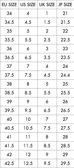 ドルガバ メンズ サイズチャート