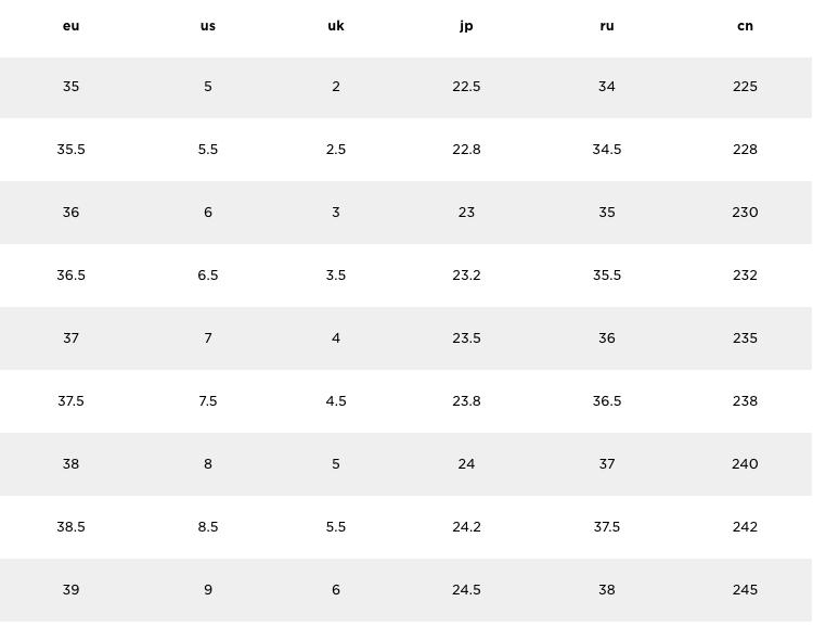 モンクレール レディース サイズ表